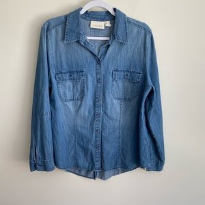 Chico's chambray top